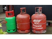Gas bottles /cylinders (empty)