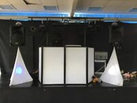 6 ft dj stand speakers sands cloths