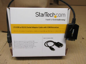 usb a port serie (rs232) startech neuf VAL 30.00