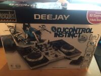 Proffesional DJ Controller Decks Deejay Digital Mixers Music Party Xmas Gift - like new, unused £50