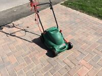 Electric lawn mover (multi blade height)