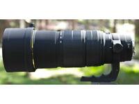 Sigma 120-300mm F2.8 Ex Dg HSM Lens, Canon fit