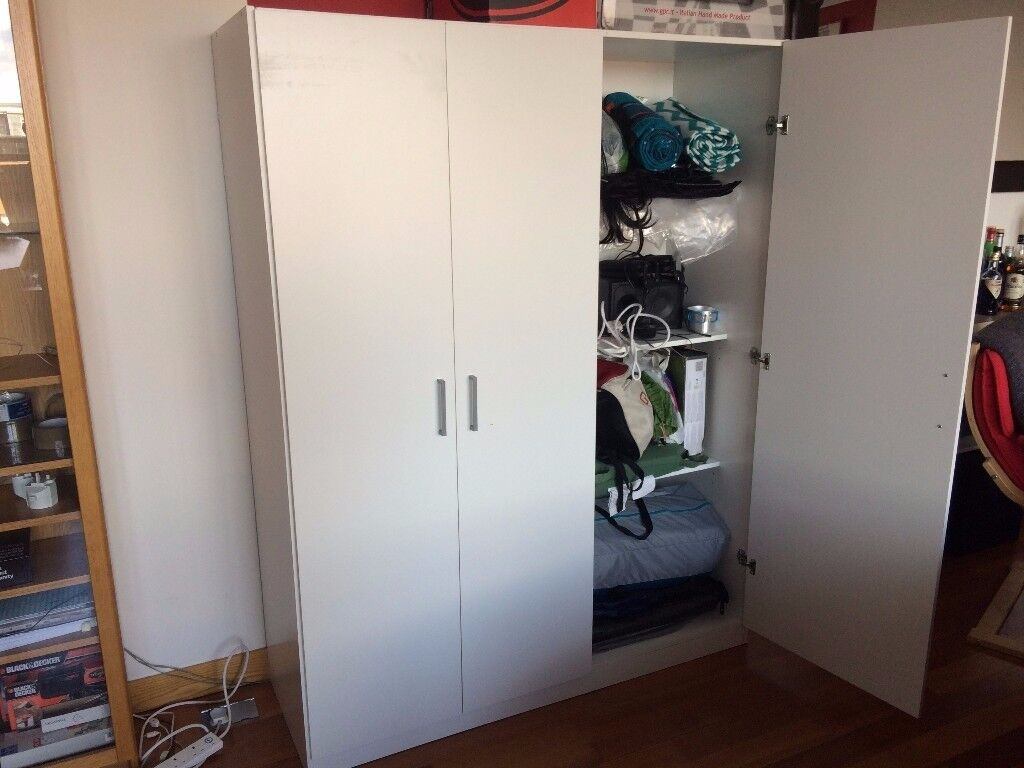 ikea dombas wardrobe 140x181 cm in birmingham city. Black Bedroom Furniture Sets. Home Design Ideas
