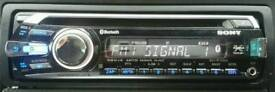 SONY BLUETOOTH CAR STEREO, VERY GOOD CONDITION, VERY POWERFUL