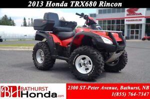 2013 Honda TRX680 Rincon Rear Seat! Automatic!