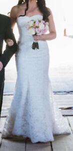 Alencon lace dress for sale