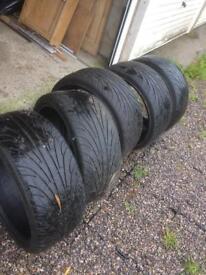 5x qty 19' tyres - Nankang Ultra Sport size 235/35ZR19 VW/ AUDI