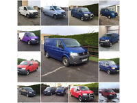 WANTED ALL VW VOLKSWAGEN TRANSPORTER VANS 2.5 TDI 1.9 TDI T5 T5.1 T6 - ANY CONDITION