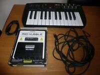 Midi items, Keyboard, Hub and leads not needed gesture price