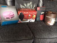 Fondue set, cupcake/ popcorn/ waffle maker
