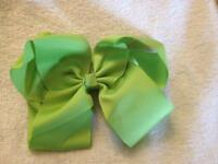 *New* 6 inch Green Hair Bow