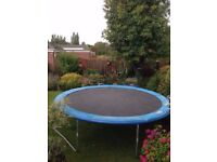 12 ft Trampoline in good condition.