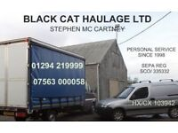 CPC COURIER MAN & VAN FOR PALLET PARCEL PACKAGE COLLECTION DELIVERY HAULAGE