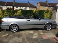 Saab 9-3 Convertible 2001 2.0SE FSH well looked after low mileage all usual refinements