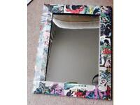 BATMAN MIRROR.sold sold sold.