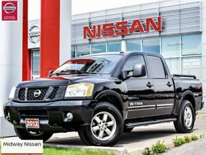 2012 Nissan Titan PRO-4X, Leather, Ranchero HD shocks