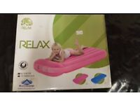 Sunncamp Childs Sized Airbed Pink or Blue For use with Camping, Caravans and Motorhomes