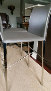 4 Grey Stools (from Structube)