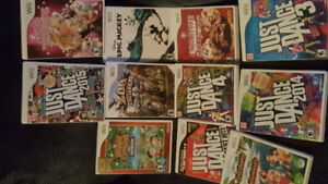 24 Wii games and accessories