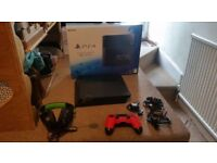 1tb ps4 all boxed with new turtle beach headset