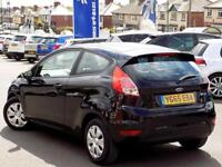 FORD FIESTA 1.5 TDCi STYLE ECONETIC 3dr **ZERO ROAD TAX** (black) 2015