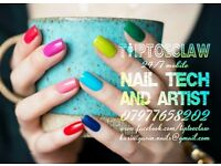 PROFESSIONAL MOBILE NAIL TECH & ARTIST⭐SHELLAC GEL POLISH MANI/PEDI⭐NAIL EXTENSIONS/TIPS⭐