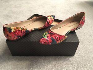 Women's Massini Shoes, floral, size 8