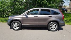 2010 Honda CRV  4WD EX-L LEATHER SUNROOF CERTIFIED $12975