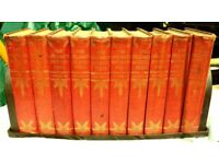 The Children's Encyclopedia - edited by Arthur Mee (All 10 volumes with book case)