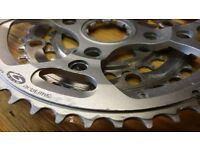 Shimano chainrings 46T 34T 24T