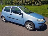 Fiat Punto 2005 Long MOT Low Miles Sunroof
