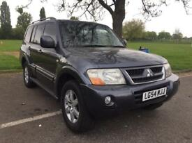 MITSUBISHI SHOGUN ELEGANCE 4X4 DIESEL AUTOMATIC ** 7 SEATS ** FULL LEATHER SEATS **