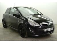 2012 Vauxhall Corsa LIMITED EDITION Petrol black Manual