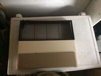 Carver gas heater