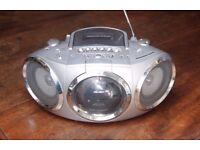 BUSH CD, Tape Player   Portable Radio