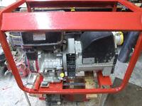 Briggs and Stratton 4KVA generator.