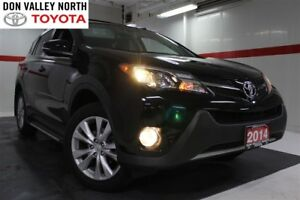 2014 Toyota RAV4 Limited AWD Sunroof Nav BU Camera Heated Lthr