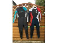 Wetsuits for sale