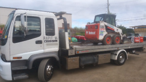Flatbed tow truck $20,000 Firm 2001 GMC T.6500
