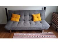 Tyler Grey Sofa bed from Dreams store