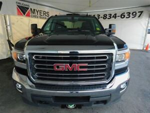 2016 GMC SIERRA 2500HD SLE CREW LONG BOX TRAILER PACK!!!
