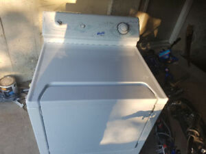 big drum Maytag electric dryer mavhine working conditions