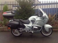 BMW R1100 RT TOURER (1998) SOLD WITH 12 M.O.T