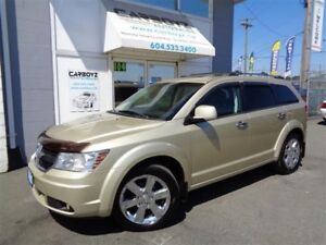 2010 Dodge Journey R/T AWD Nav, Sunroof, Leather, 7 Passenger