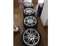 19'' Mercedes E Class AMG Alloys/Tyres