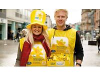Marie Curie is searching for a volunteer to take on the role of Collection Host in Leeds City Centre