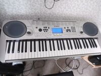 Yamaha EZ-30 61-key Touch Response keyboard with lighted keys, sequencer, effects