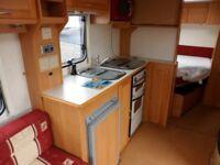 COMPAS RAMBLER 18 - 4 BERTH - FIXED BED - TOURING CARAVAN - INGOLDMELLS - COASTFIELDS GROUP - SALE