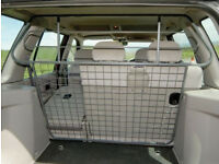 FreeLander Dog Guard good condition 1 FULL HEIGHT GREY BAR & MESH (96-06)
