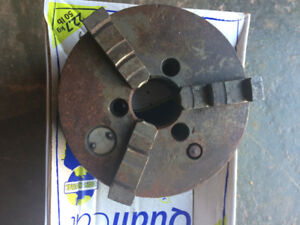 3 way chuck for lathe